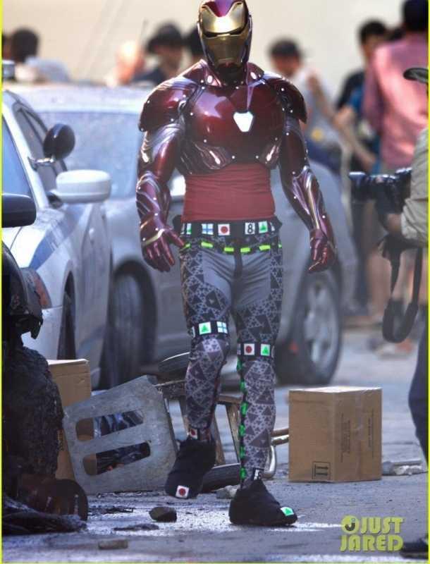 Así luce el nuevo traje de 'Iron Man' en 'Avengers: Infinity Wars'