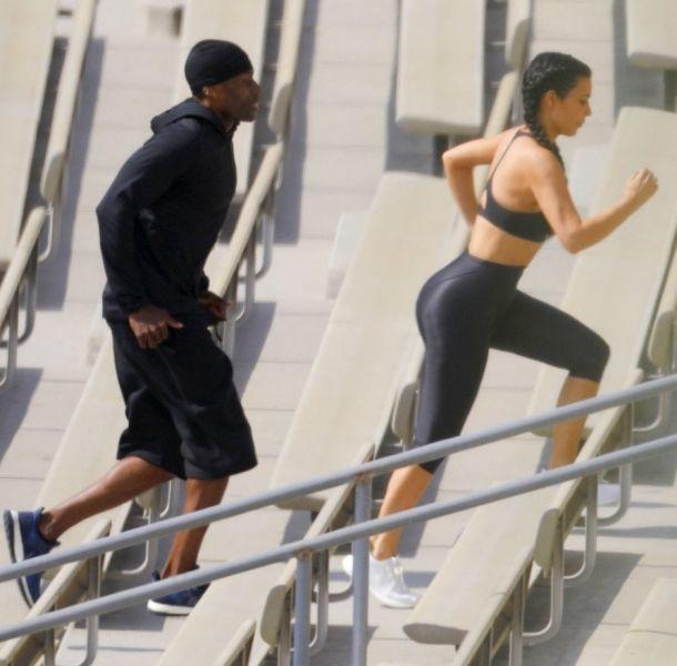 Kim Kardashian enamoró a su instructor con su trasero