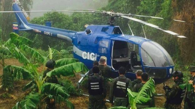 Hallan el helicóptero que atacó sede del Supremo venezolano