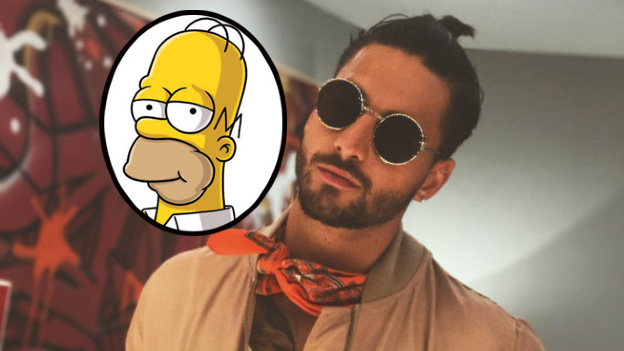 VENEZUELA: ¡Maluma llega a Springfield para visitar a Homero!