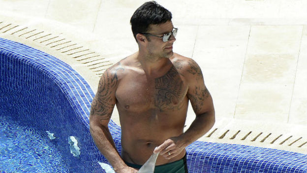 A Ricky Martin le encanta el rol de amante