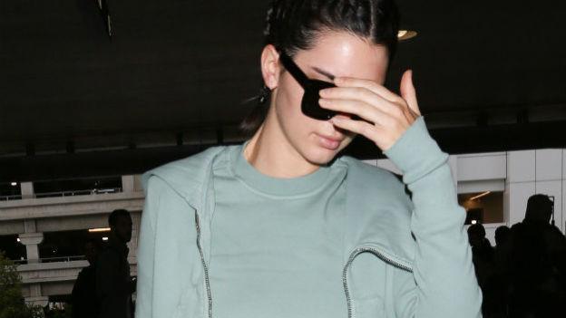 Kendall Jenner es criticada por su extrema delgadez