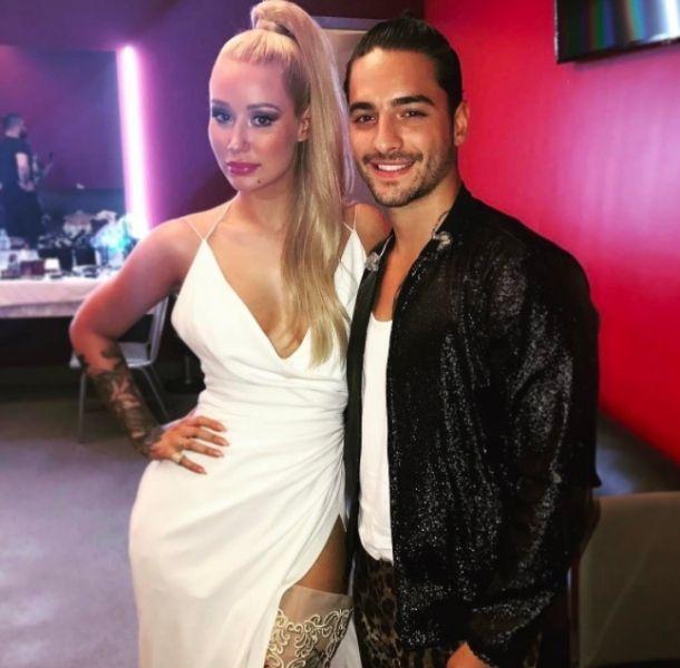 Maluma es captado con cantante australiana en restaurante de Miami (FOTOS)