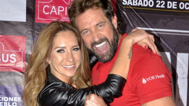 Geraldine Bazán y Gabriel Soto ¿en crisis matrimonial?