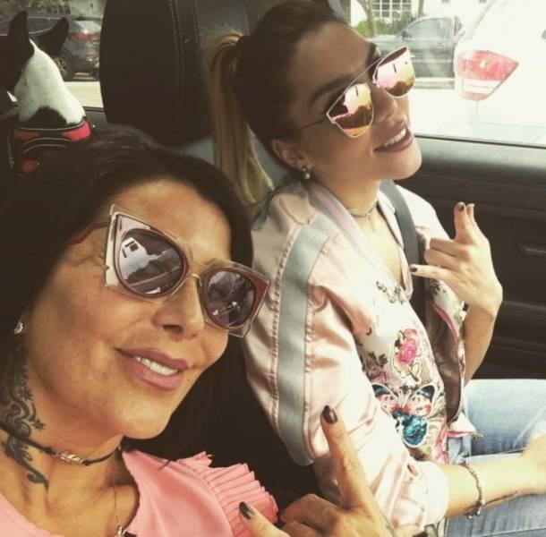Gracias a Frida Sofía, Alejandra Guzmán recuperó su sexy figura