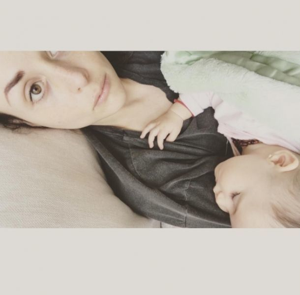 Zuria Vega festejó los seis meses de su hija Lúa con tierna foto
