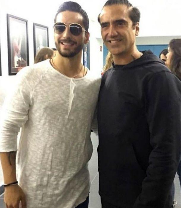 ¡Explosiva colaboración! Alejandro Fernández y Maluma grabarían canción