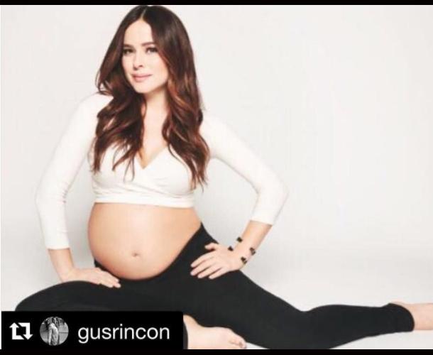 Danna García dio a luz a su primer hijo