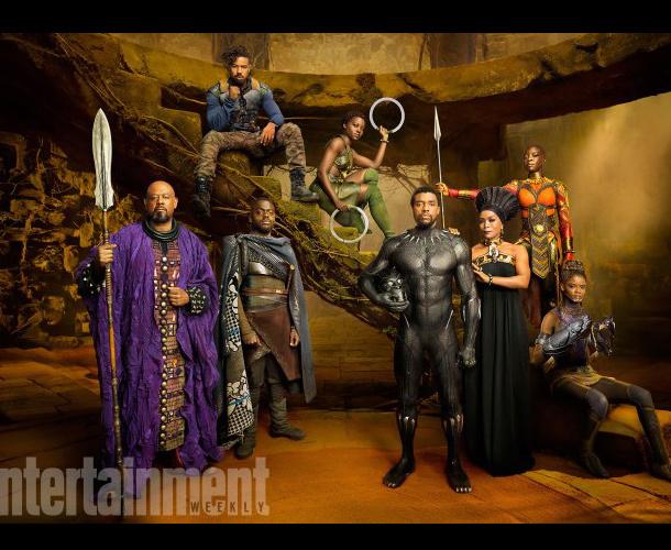 Revelan las primeras imágenes oficiales de 'Pantera Negra'