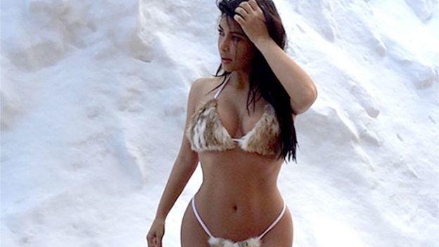Kim Kardashian delata la adicción a una sustancia