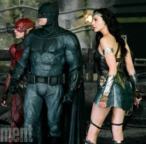 Revelan nueva imagen de 'Liga de la Justicia'