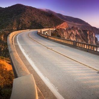 Recorre la clásica ruta de Highway 1 a lo largo de todo California