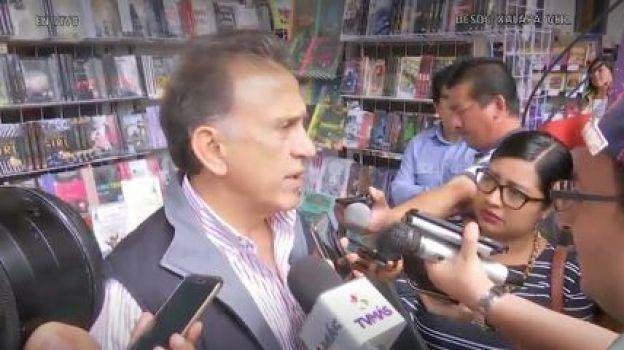 Yunes asegura que PGR aceptó su testimonio en caso de Duarte