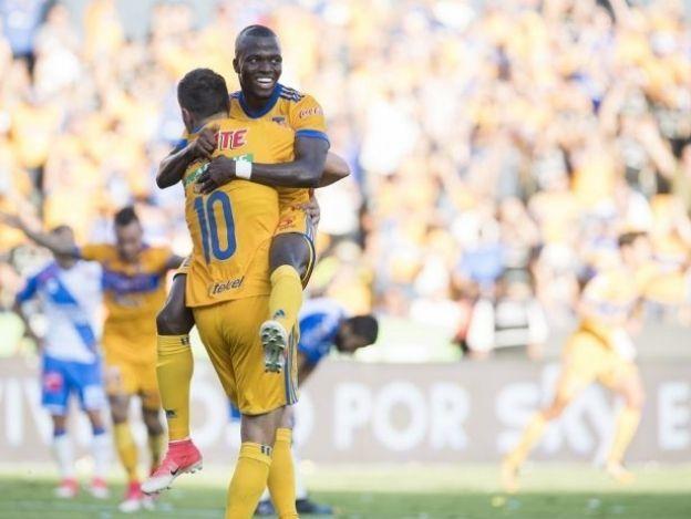 Espectacular regreso de Enner en goleada de Tigres