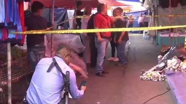 Deja dos muertos balacera en tianguis en límites de Iztapalapa y Neza