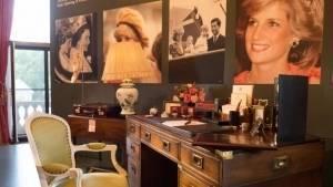 Exhiben pertenencias de Lady Di en Palacio de Buckingham