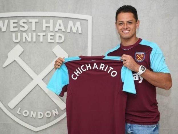 'Chicharito' se puso la del West Ham