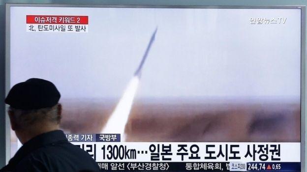 Corea del Norte lanza misil que llegó a aguas de Japón