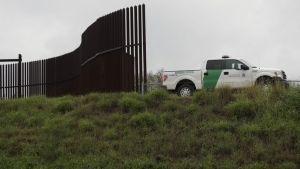 Los prototipos de muro fronterizo