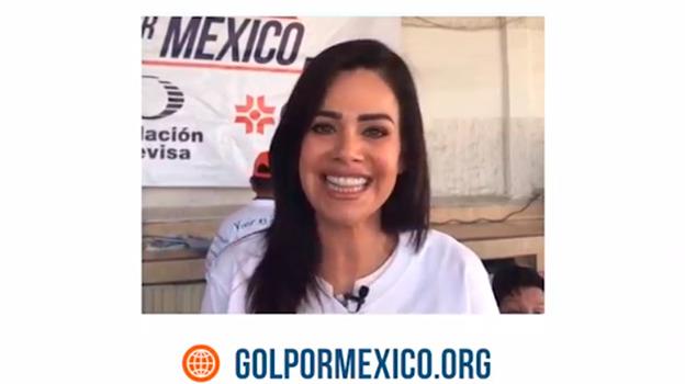 Luz Elena González invita a conocer beneficios a estudiantes de Gol Por México