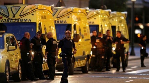 EI reivindica la autoría del atentado en Barcelona