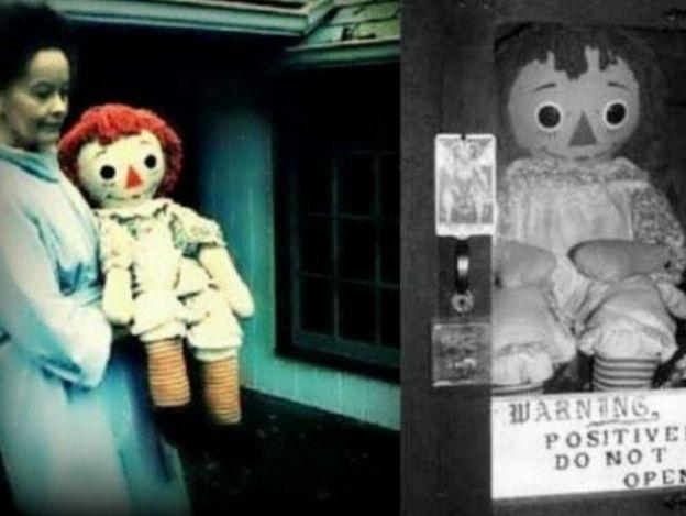 Top 10: Datos terroríficos de la muñeca real de Annabelle