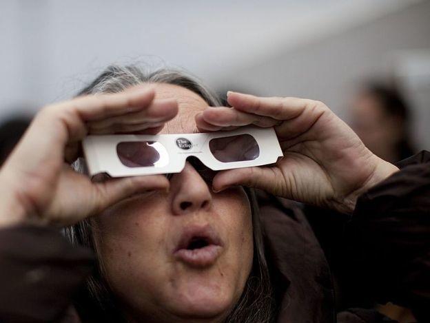 Fotos: Así se ha visto el eclipse solar en el mundo