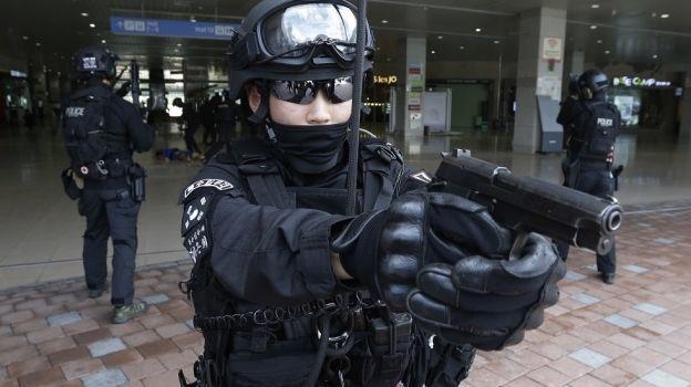 EU y Surcorea realizan simulacro militar
