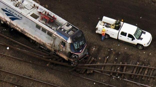 Choque de trenes deja 42 heridos en Philadelphia