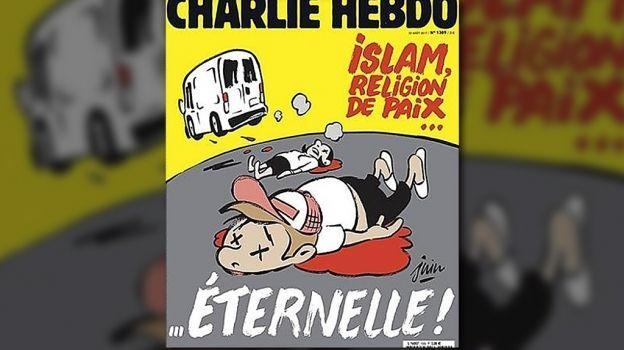 Polémica por portada de Charlie Hebdo sobre atentado en Barcelona
