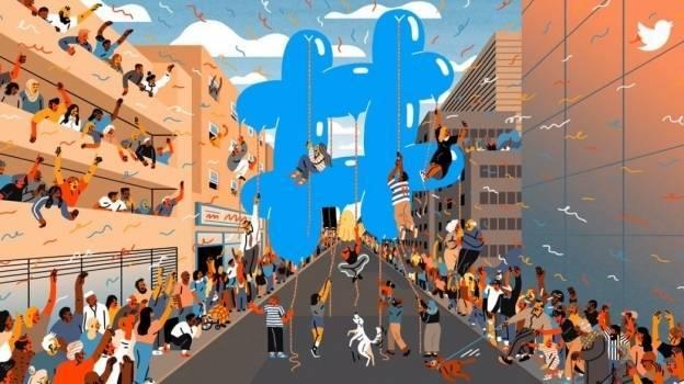 'Hashtag', símbolo del activismo y el ocio en Twitter, cumple 10 años