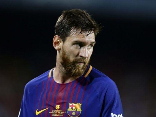 Messi envía saludos a niño de colegio colapsado