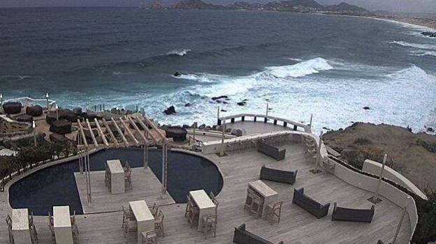 Los Cabos permanece en alerta por tormenta tropical 'Norma'