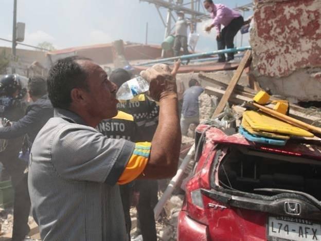 Crece cifra de personas muertas por el sismo