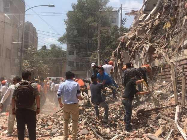 Suspenden clases en ocho entidades del país por sismo