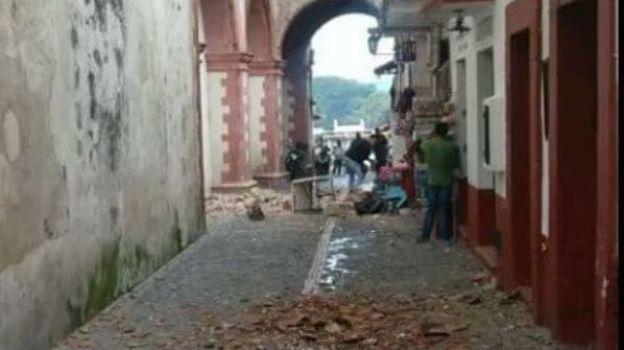 Reportan un muerto y daños en Iglesias en Guerrero por sismo
