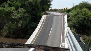 Capufe evalúa daños en carreteras y puentes tras sismo