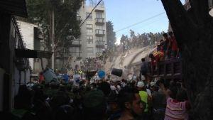 Sismo de 7.1° Richter sacude la Ciudad de México, Morelos y Puebla