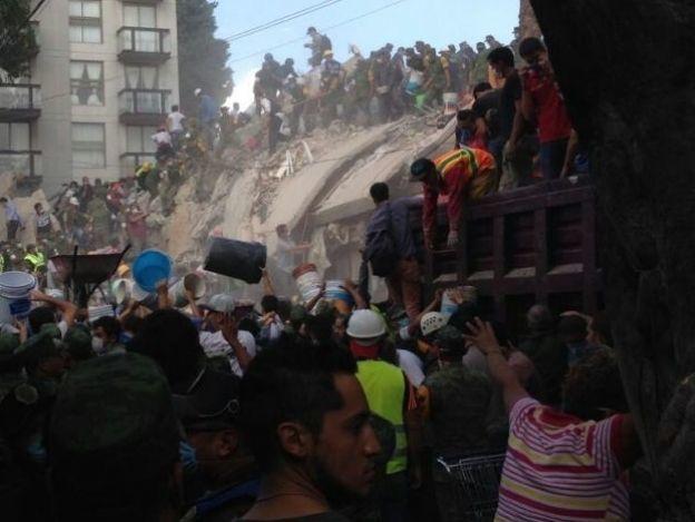 32 años después volvió a temblar en México, justo un 19 de septiembre