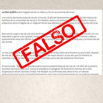 OJO: No difundas estas mentiras sobre el terremoto en México