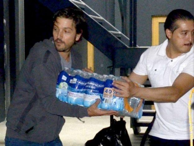 Diego Luna alista ayuda para Oaxaca y Morelos