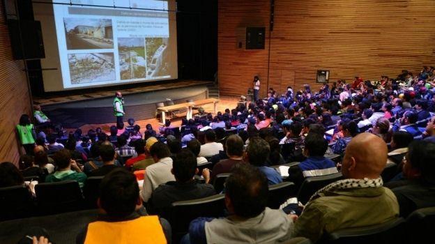 UNAM coordina a brigadistas para evaluar viviendas afectadas por sismo