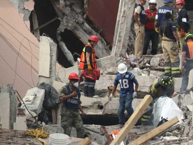 Suman 293 muertos por terremoto del 19-S en México