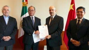 China dona a México un mdd para víctimas del sismo