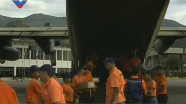 Venezuela envía a México más de 10 toneladas de alimentos