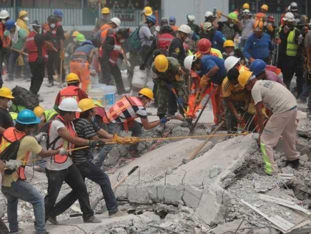 El sismo del 19 de septiembre en imágenes