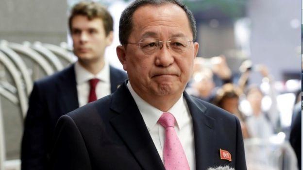 EU ha declarado la guerra, dice el canciller de Corea del Norte