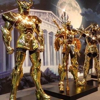 ¡Así lucen las armaduras reales de 'Los Caballeros del Zodiaco'!