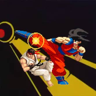 �Esto pasa cuando desbloqueas a 'Gok�' en 'Street Fighter'!