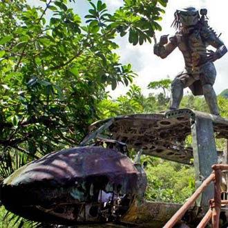 ¡Este es el set en el que filmaron 'Depredador' en México!
